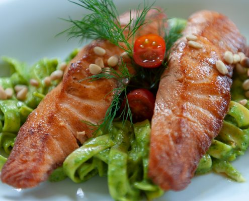Bärlauch Lachs Gerichte