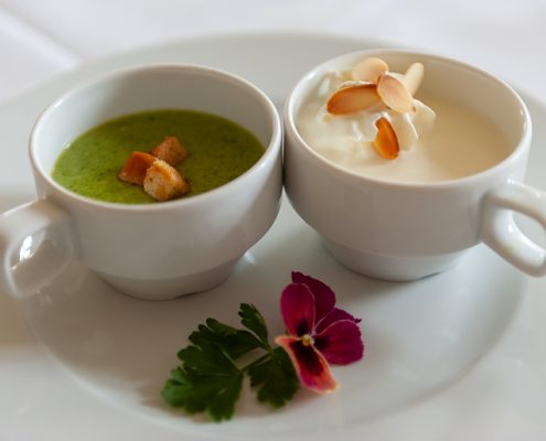 Bärlauch Spargelcreme Suppe